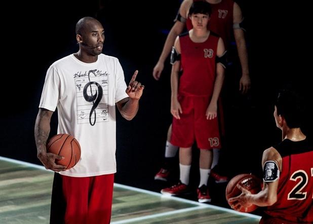 篮球场上5个球员的位置大概在哪里?