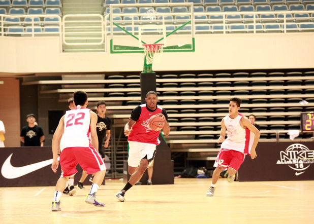 nike 篮球运动员 bradley beal 指导亚洲年轻球员
