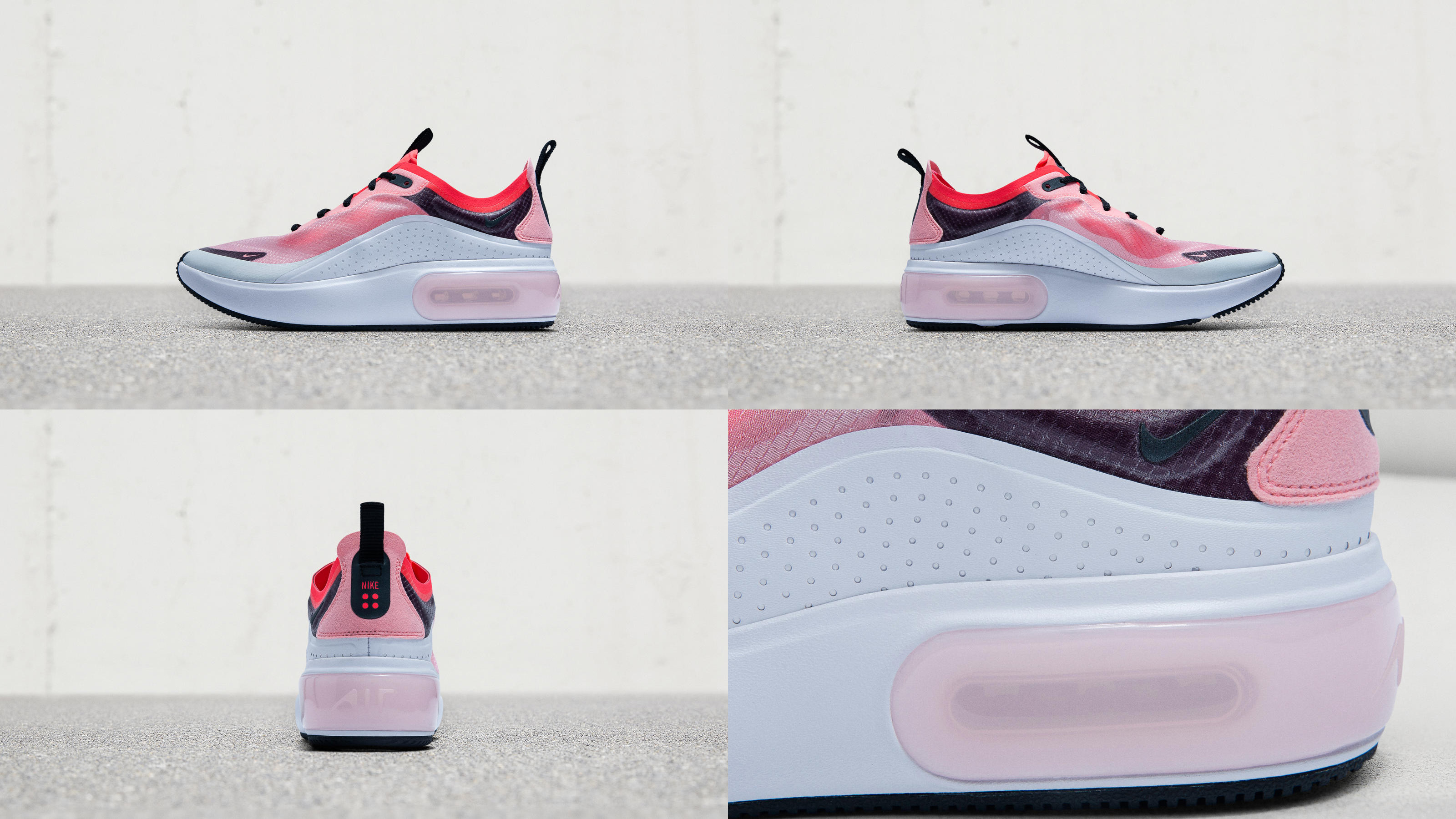 vertical Una herramienta central que juega un papel importante. Mm  Nike Air Max Dia女子鞋款: 摩登优雅的Air新成员